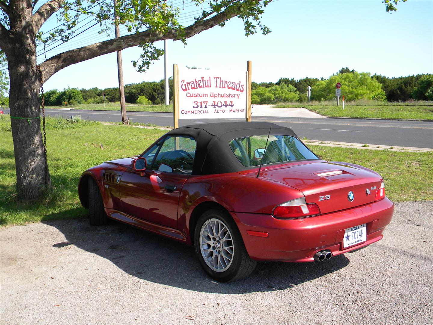 2002 B M W Z3 Convertable Tops Austin Tx Grateful