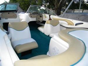 Sea Ray Boat Restoration Upholstery Austin Tx Grateful Threads Custom Upholstery